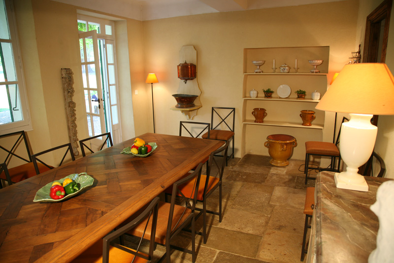 Villas To Rent In Provence   French Riviera Cote Du0027Azur Rentals   Dining  Room