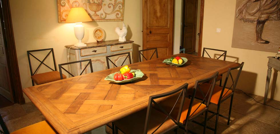 Villas to Rent in Provence - French Riviera Cote d'Azur Rentals - Dining Room