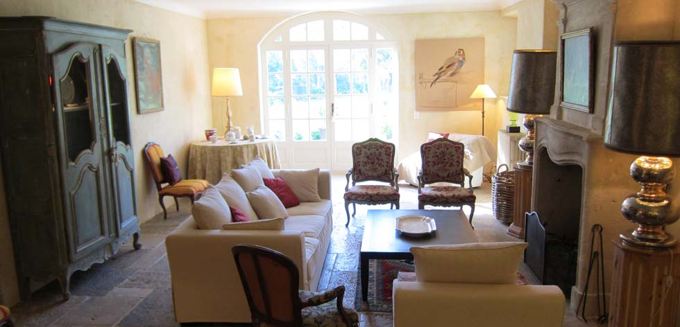 ... Villas To Rent In Provence   French Riviera Cote Du0027Azur Rentals   Living  Room